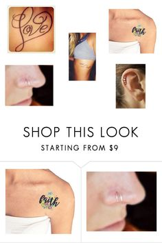 """""""Anna's Tattoos and Piercings"""" by btsannxa ❤ liked on Polyvore"""