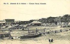 Santiago Cuba 1908 Custom House Avenue Collectible Antique Vintage Postcard