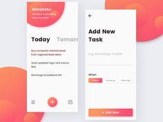 To Do App Concept (Minimal)