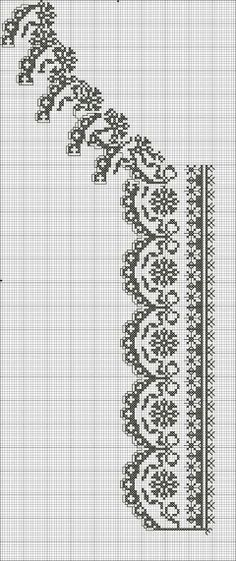 Beading _ Pattern - Motif / Earrings / Band ___ Square Sttich or Bead Loomwork ___ Cross Stitch Sampler Patterns, Cross Stitch Borders, Cross Stitch Charts, Cross Stitch Designs, Cross Stitching, Folk Embroidery, Cross Stitch Embroidery, Embroidery Patterns, Crochet Chart
