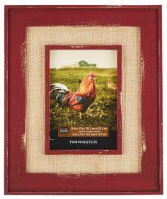 "Farmington Collection with Burlap Mat Opening - 20.3 x 25.4 cm (8""x10"")"