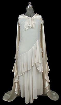 Wedding Dress  1925  The Frock