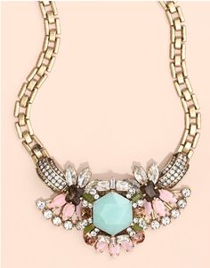 J. Crew necklace...!! such a beautiful statement necklace!