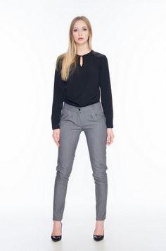 Capri Pants, Grey, Fashion, Gray, Moda, Capri Trousers, Fashion Styles, Fashion Illustrations