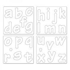 letras minusculas