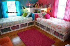 ozel dolap rafli cocuk odasi yataklari 1 ÖZEL TASARIM İKİZ YATAKLI DOLAP RAFLI YATAKLAR VE ÖLÇÜLERİ