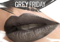 All Gray Everythin' | MAC Grey Friday Lipstick and Nail Lacquer