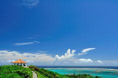 石垣島、玉取崎展望台。 目の前には美しいイノー(礁池)が広がっています。 #Sightseeing