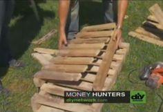 Lehr-Video, wie ein Adirondack Stuhl mit einer Palette machen