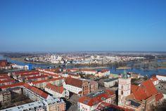 Frankfurt (Oder), Germany: Border town where I did my student exchange during my undergrad (Slubice, Poland is right across the bridge)