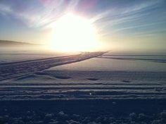 Amazing Winter Light in Finland.
