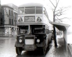 The origins of bus services in Dublin go back to the first horse tram, the Terenure route, in A network of tram routes developed quickly, and the network was electrified between 1898 and Old Pictures, Old Photos, Dublin City, Bus Coach, Buses, Trains, Ireland, Irish, Horse