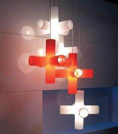 Suspension salon, appliques murales et lampadaires par Dark comme accent lumineux