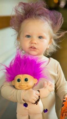 Toddler Troll Doll Halloween costume