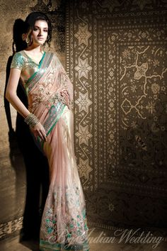 Satya Paul bridal saree