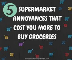 Hey everyone!! Let's talk about ways that grocery stores could help make buying groceries easier for customers. Mrs. CBB and I have come up with a list along with fan feedback from this Facebook page! Check it out and leave a comment telling us what you'd love to see at the grocery store that would make shopping a breeze!   Plus.. post your weekly shop in the Grocery Game Challenge and you will be eligible to WIN a President's Choice Gift Card to put towards your next shop!  Rules in post.