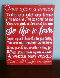 Disney Disney Love Quotes Disney Movie Quotes by WordArtTreasures Life Quotes Disney, Disney Sayings, Movie Quotes, Funny Quotes, Movie 20, Wedding Quotes, Wedding Ideas, Wedding Reception, Wedding Sparklers