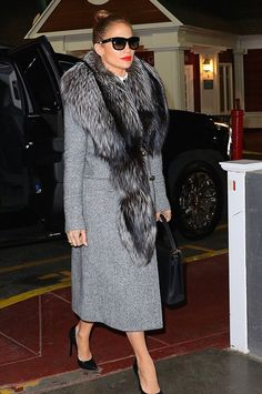 Jennifer Lopez wearing Casadei Crystal-Embellished Blade Pumps 4c1cd5265