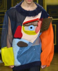 patternprints journal: PRINTS, PATTERNS AND TEXTILE SURFACES FROM PARIS CATWALKS (MENSWEAR F/W 2015/16) / Walter Van Beirendonck