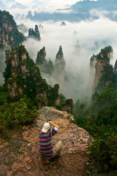 """Zhanggjiajie @ China"" by Eddie Seng"