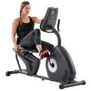 Exerpeutic 1000 High Capacity Magnetic Recumbent Exercise Bike With Pulse Walmart Com Recumbent Bike Workout Biking Workout Exercise Bike Reviews