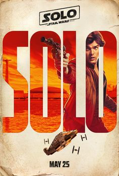Han Solo - Solo: A Star Wars Story Teaser Poster