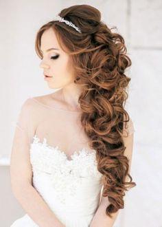 imagenes de peinados para cabello largo coj tiaras