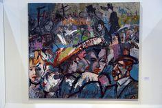 """Até o dia 29 de novembro, a galeria de artes do Sesc Senac Iracema recebe a exposição """"Liquidificai e Bebei"""", do artista plástico Vando Figueiredo. A visitação acontece de segunda a sexta-feira, das 9h às 20h30, e aos sábados e domingos, das 16h às 20h. A entrada é Catraca Livre."""