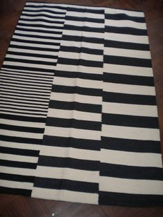 30 discount on 6 x  4 ft  handmade rug in wool cotton by aerugs, $145.00