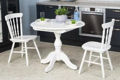 30 Best Oval Tables Ideas You'll Love - InteriorSherpa Circular Table, Oval Table, Dining Table, White Dining Set, Architectural Features, Kitchen Cabinetry, Table Legs, Tables, Interior