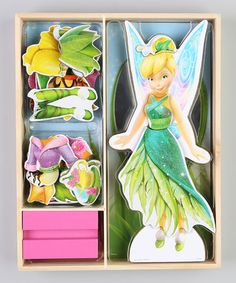 Take a look at this Tinker Bell Magnetic Doll by Disney on #zulily today!