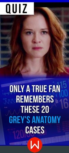 Do you think you remember these twenty crazy medical cases on Grey's Anatomy? Go ahead and take this quiz to find out! Grey's quiz, GA trivia quiz. So you think you are a REAL Grey's fan? Prove it! Shondaland, Greys Anatomy test.