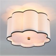Flower Drum Shade Ceiling Light - $259