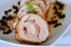 Ciolan de porc feliat - la cuptor | Savori Urbane Carne, Bacon, Meat, Recipes, Pork, Pork Belly