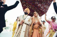 Photographer - The Royal Wedding! Photos, Punjabi Culture, Beige Color, Destination Wedding, Bridal Makeup, Bridal Entry pictures, images, Vendor credits - Karan Sidhu Photography, WeddingPlz