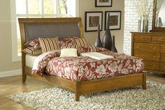 Modus Furniture City 2 Pecan bed