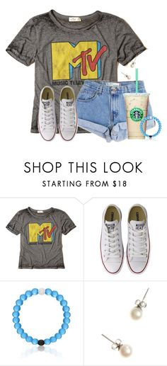 """""""Going to target after school"""" by flroasburn ❤ liked on Polyvore featuring Hollister Co., Levi's, Converse and J.Crew"""