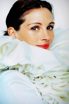 Julia, photographed by Mario Testino