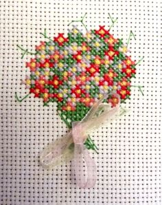 My own design cross stitch mini kit