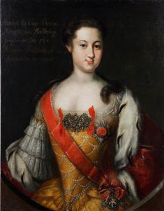 ANNA Leopoldovna von Mecklenburg-Schwerin, Duchess of Brünswick-Wolfenbüttel (1718 - 1746), Regent of Russia in 1740-1741 in the name of his son the Tsar Ivan VI Antonovich. She was the daughter of the Duke Karl-Leopold von Mecklenburg-Schwerin and the Grand Duchess Ekaterina Ivanovna of Russia, sister of the Empress Anna I Ivanovna.
