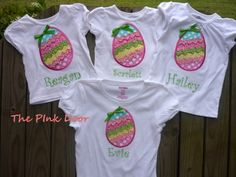 Easter Appliqued Tshirt by nwalkercreations on Etsy, $23.00