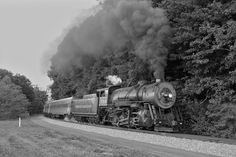 steam locomotive | steam locomotive western maryland scenic 734 hauls a three car charter ...