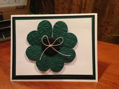 Stampin Up Handmade St. Patrick's Day Card Kit by CarolsCraftyCafe, $7.00