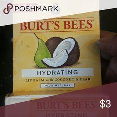 Lip Balm 100% Natural lip balm with coconut & pear?? Burt's Bees Baby Makeup Lip Balm & Gloss