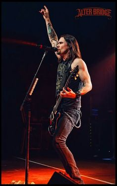 Myles Kennedy from Alter Bridge! Huge inspiration to me.  Incredible musician and lyricist!