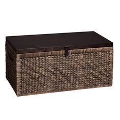 Target Storage Trunk Custom Wicker Large Storage Trunk  Dark Global Brown  Threshold™  Item Inspiration Design