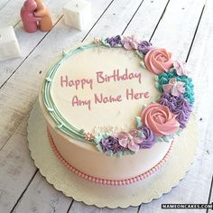 Beautiful Name Birthday Cakes For Lover With Cake Decorating Friends