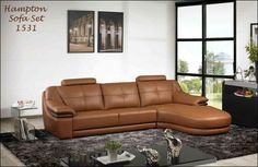 Elegant and stylish L-shaped sofa with reclining options. Cozy and comfortable seating best suitable for small spaced homes.