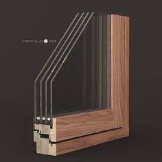 ARTVIZLAB | 13% discount on 3d modeling of subjects | 3d@artvizlab.com #artvizlab #windows #profile #site #ultraterm #wood #glass #walnut