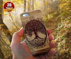 wooden phone cases with leaves on - Google Search